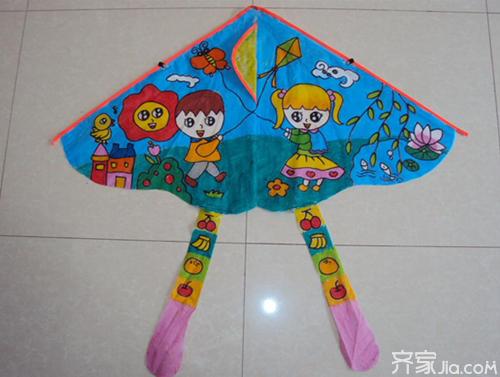手工制作风筝 给孩子最好的六一礼物